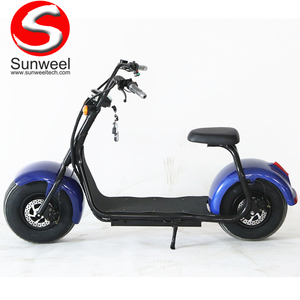 Cheap Simple Design Electric Harley Scooter