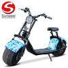 New Lithium Big Wheel Electric Scooter Motorcycle