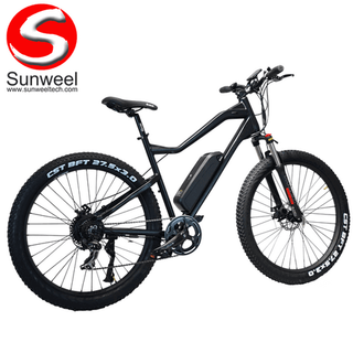 Mid Fat Tire Electric Mountain Bike for Men