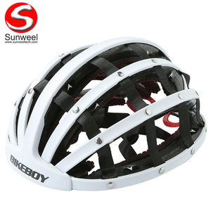 Light Safety Helmet Adult Dirt Bike Bicycle Folding Helmet