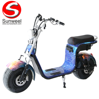 Manufacturer Waterproof Electric Scooter with Removable Battery