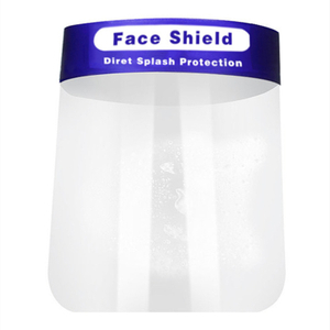 CE Anti-fog Disposable Safety Transparent Face Shield Visor