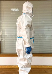 Disposable Clothing Coverall Full Body Virus Protection Suit for Hospital
