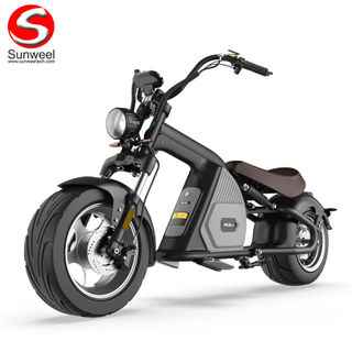2020 New 3000W Electric Scooter High Powerful Citycoco Chopper Style With Removable Battery