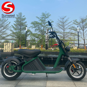 EEC COC M2 2000W 3000W High Power Citycoco Fat Tire Adult Electric Scooter