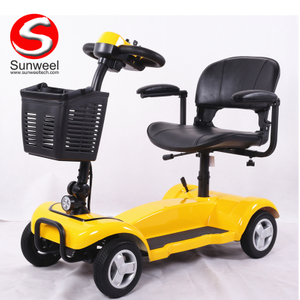 OEM Cheap Folding 4Wheel Electric Wheel Mobility Handicapped Scooter for Adults