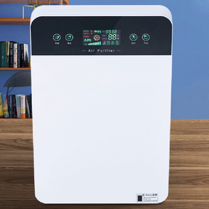 Smart Multi-Function Air Purifier Desktop Wifi New Air Cleaner With Hepa Filter Activated Carbon Filter