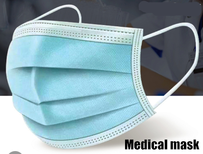 Wholesale Custom Earloop Disposable Non Woven 3 Ply Surgical Medical Face Mask