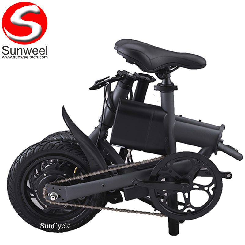 Suncycle Cheapest Pocket Electric Bike Folding 250W Road Electric Bicycle