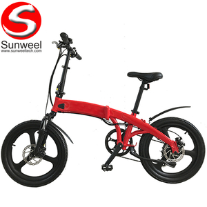 20inch Magnesium Alloy Wheel Integrated Folding Electric Bike