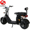 EEC big wheel citycoco electric scooter with seat removable battery
