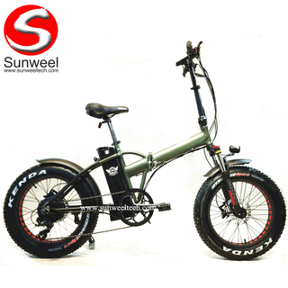 Long Range Off-road Foldable Electric Bike 500w Folding
