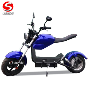 1500W Motor 60V 20Ah Lithiumn Battery Citycoco EEC COC Approved Electric Scooter