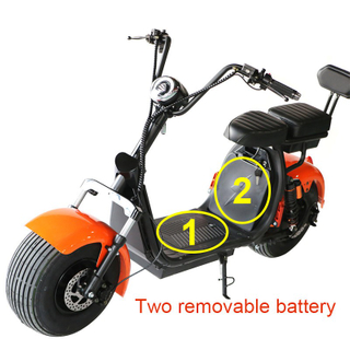 Double Battery Harley Electric Scooter Citycoco