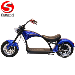 High Quality EEC/COC Electric Motorcycle Scooter