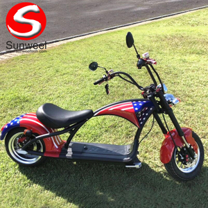 Newest Model Factory Supply Directly 2000w Scooterr Citycoco For Sale