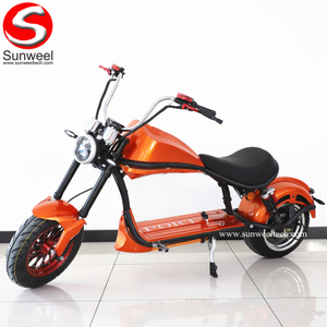 Suncycle EEC COC Brushless Motor and Removable Battery City Electric Scooter Electric Motorcycle