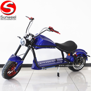 Suncycle Luxury Electric Street Motorcycle with Seat for Adults in China