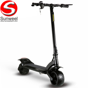 Fat Tire Folding Wide Wheel Electric Scooter for Adult