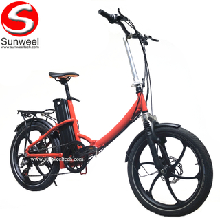 New Product 2019 Lithium Battery Foldable Electric Bike/Mini Bicycle/Foldable Ebike