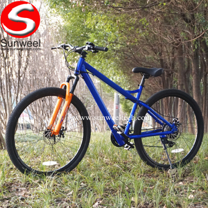 Suncycle Steel Frame Lockout Suspension Fork 24 Speed 250 Watt Electric MTB Bike