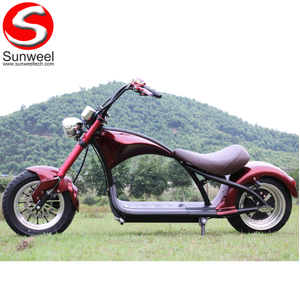 60V1500W Motor 20Ah Lithium Battery Fat Tire Electric Scooter Europe Warehouse Stock